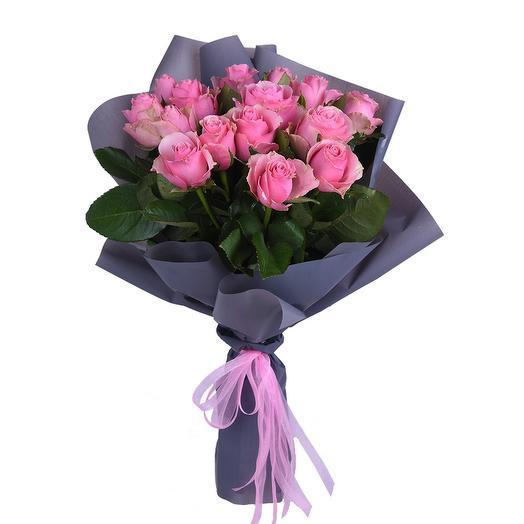 """Букет """"Розовое чудо"""": букеты цветов на заказ Flowwow"""