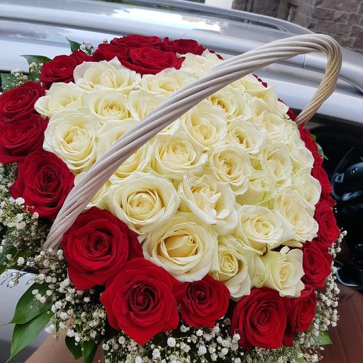 Корзинка N 1: букеты цветов на заказ Flowwow