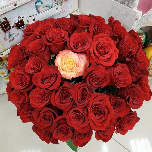 Страсть наяву: букеты цветов на заказ Flowwow