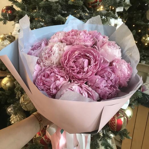 Bouquet of peonies 13