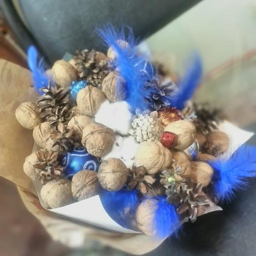 Новогодний гламур: букеты цветов на заказ Flowwow
