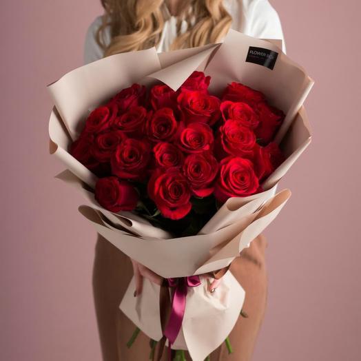 Красные розы 31: букеты цветов на заказ Flowwow