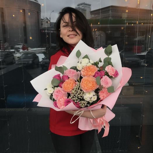 Поцелуй Амура: букеты цветов на заказ Flowwow