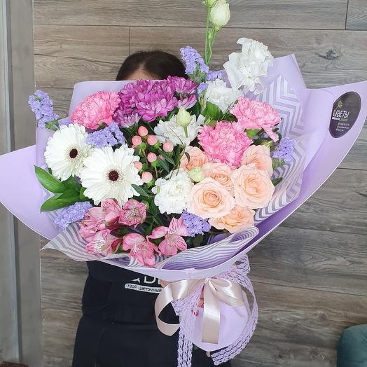 Букет птичка: букеты цветов на заказ Flowwow