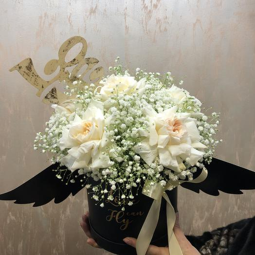 Ангел любви: букеты цветов на заказ Flowwow