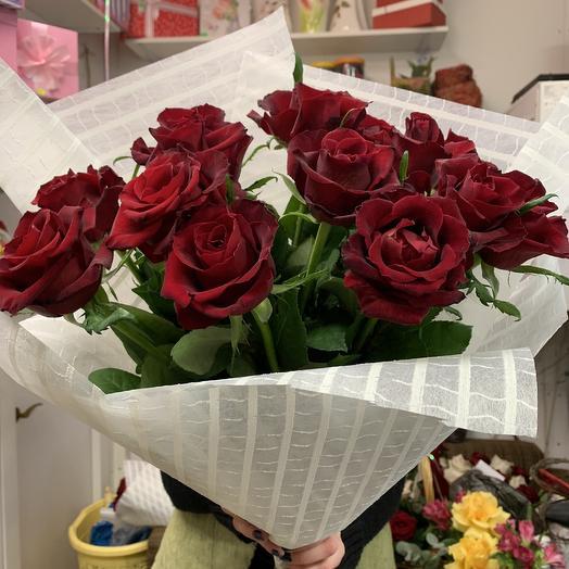 Алый️: букеты цветов на заказ Flowwow