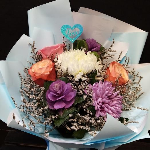 Восхитительная: букеты цветов на заказ Flowwow