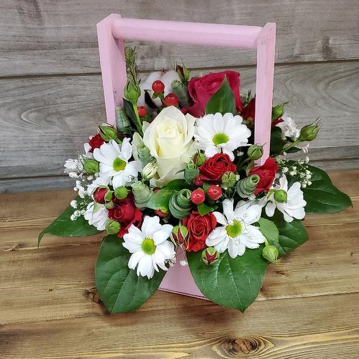 Мини красавчик: букеты цветов на заказ Flowwow