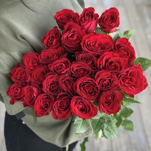 Букет из 25 премиум роз