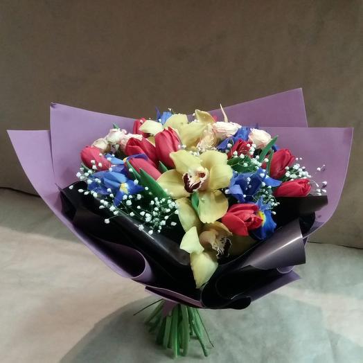 Букет «Море Любви»: букеты цветов на заказ Flowwow