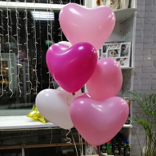 7 сердечек микс
