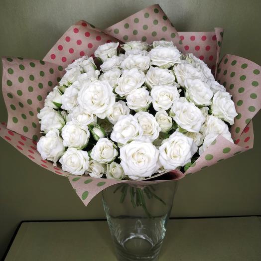Роза (Кустовая) 40 см 25 шт в упаковке