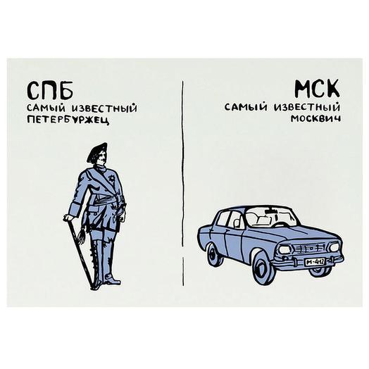 """Карточка """"Москвич"""""""