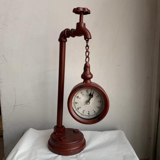 Кран часы