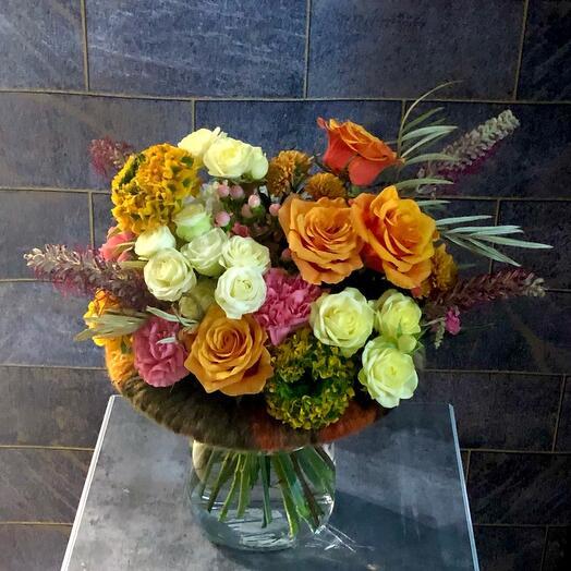 Букет из экзотических цветов «Чужестранка»