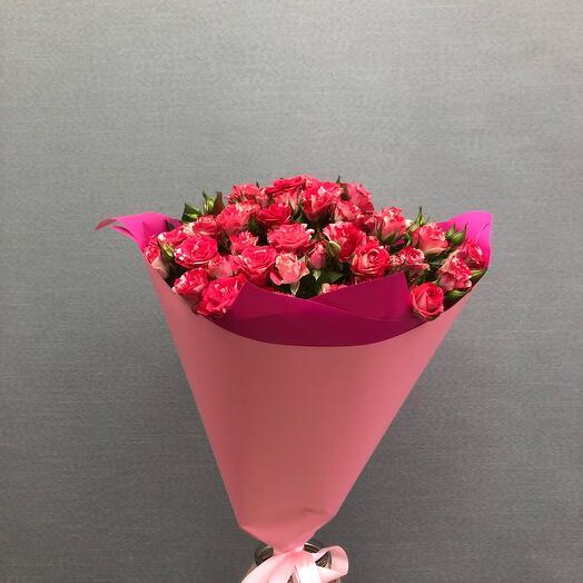 Кустовые розы 11