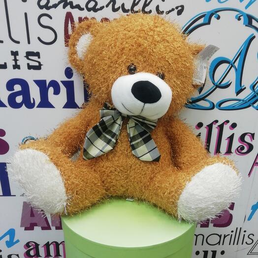 Мягкая музыкальная игрушка медведь