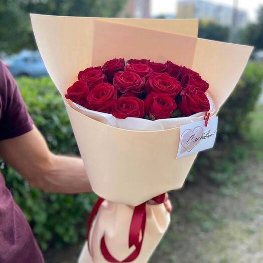 Розы в оформлении