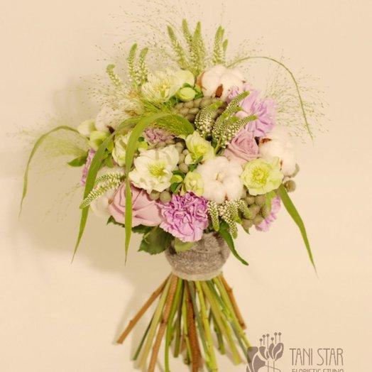 Нежный букет с подснежниками: букеты цветов на заказ Flowwow
