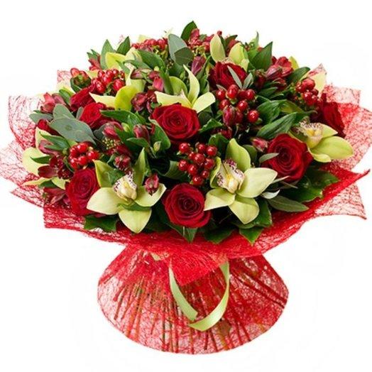 Букет Ее величество Код 170090: букеты цветов на заказ Flowwow