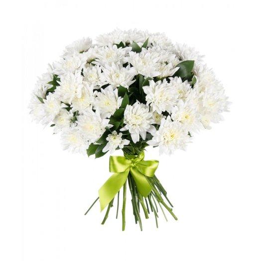 "Букет хризантем ""Белый ангел"""