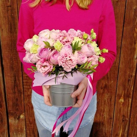 Розовое ведёрко