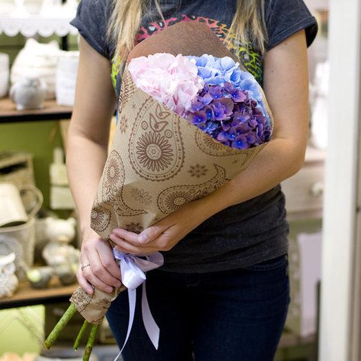 "Букет гортензий ""Hydrangea"": букеты цветов на заказ Flowwow"