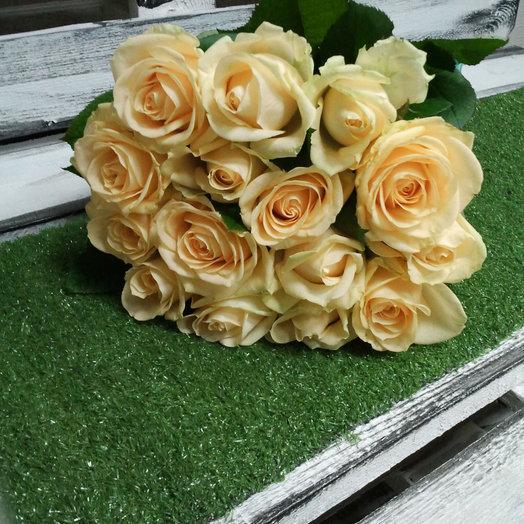 Персиковое настроение: букеты цветов на заказ Flowwow