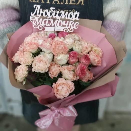 Оттенки розового: букеты цветов на заказ Flowwow