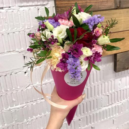 Цветочный рожок 1