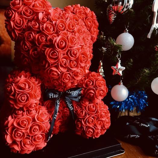 Хит! Мишка любимой: букеты цветов на заказ Flowwow