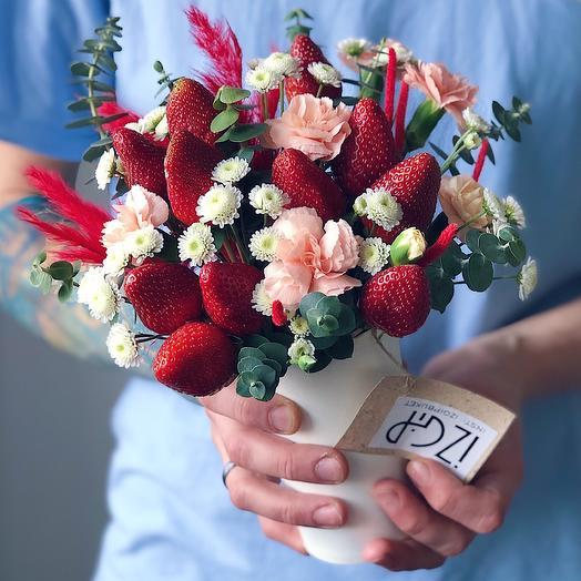 Strawberry 1: букеты цветов на заказ Flowwow