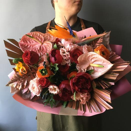 Букет дня - тропики: букеты цветов на заказ Flowwow
