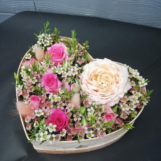 Букет7: букеты цветов на заказ Flowwow