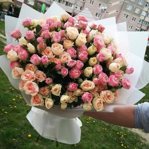 Беззаботная юность: букеты цветов на заказ Flowwow