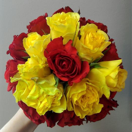 Свадебный Яркий: букеты цветов на заказ Flowwow