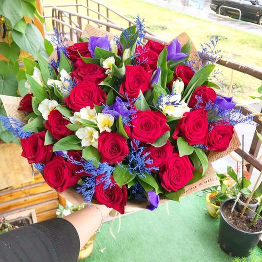 С наилучшими пожеланиями: букеты цветов на заказ Flowwow