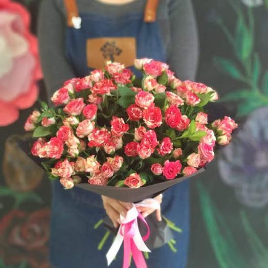 Просто кустовые розы