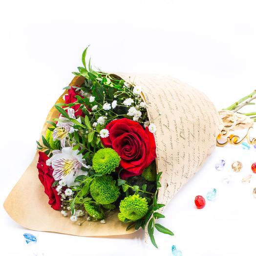 Flowers in the envelope