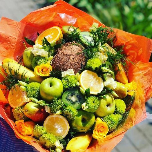 Тропический рай: букеты цветов на заказ Flowwow