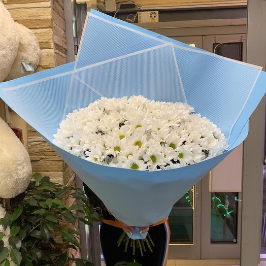 Огромный букет ромашек🌸: букеты цветов на заказ Flowwow