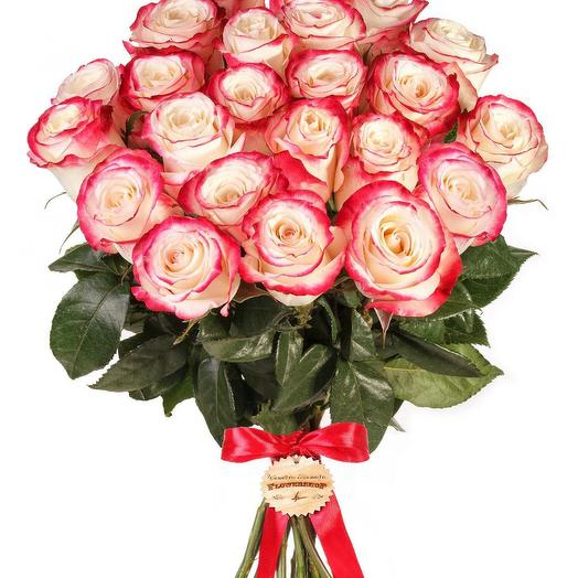 21 роза микс: букеты цветов на заказ Flowwow