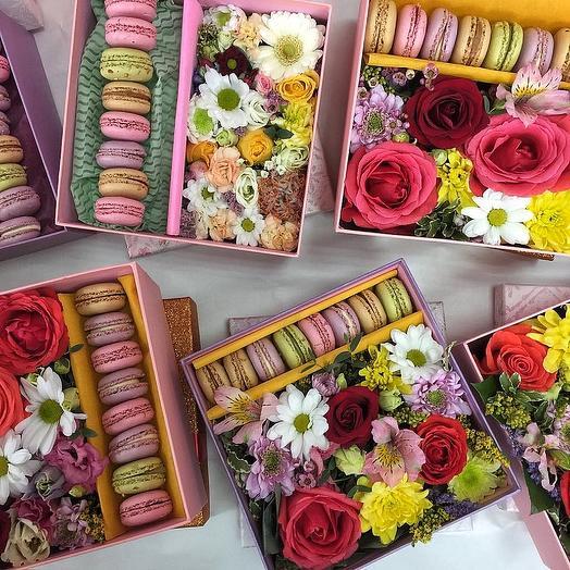 Сладкое обожание: букеты цветов на заказ Flowwow