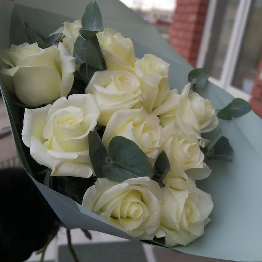 Snow-white miracle: flowers to order Flowwow