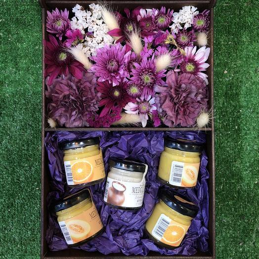 Цветы и Мед: букеты цветов на заказ Flowwow