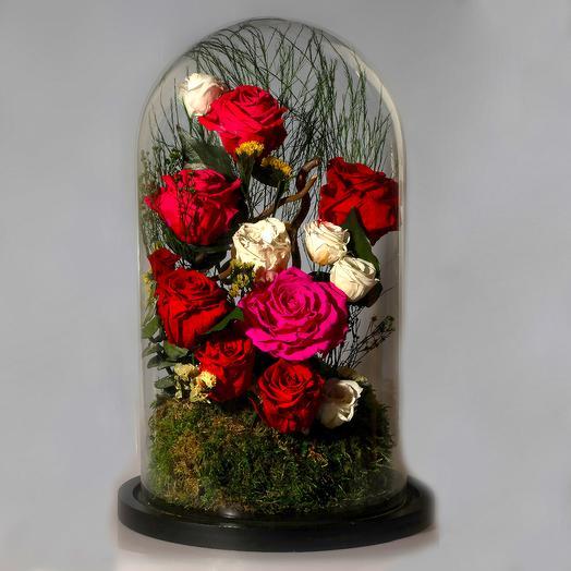 "Композиция ""Тысяча первых поцелуев"": букеты цветов на заказ Flowwow"