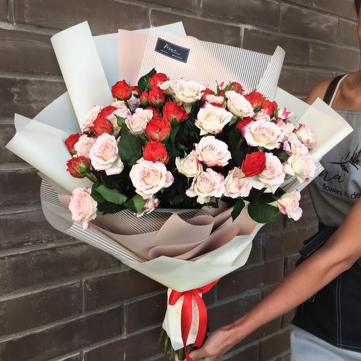 Букет «Хорошее настроение»️: букеты цветов на заказ Flowwow