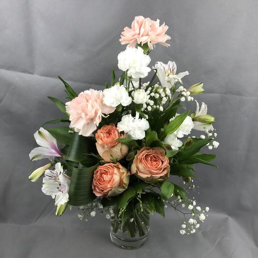 Чайная Роза: букеты цветов на заказ Flowwow