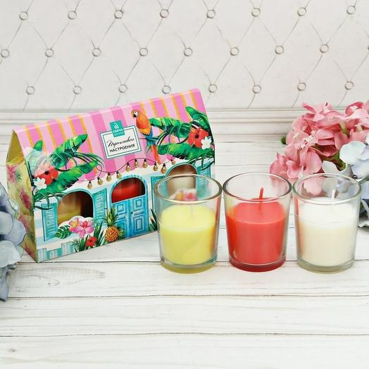 Ароматные Валентинки-свечи: букеты цветов на заказ Flowwow