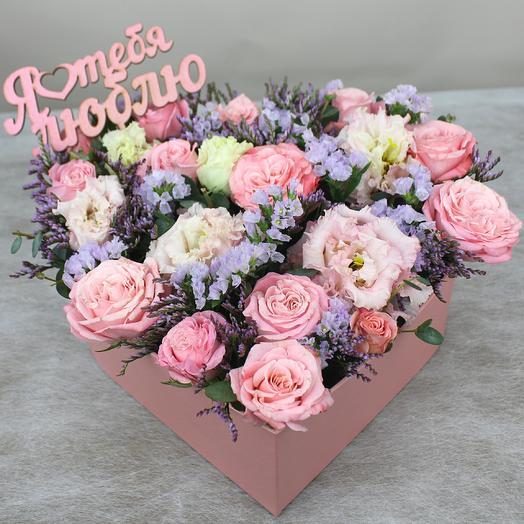 Нежное признание: букеты цветов на заказ Flowwow
